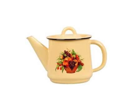 Чайник для плиты СТАЛЬЭМАЛЬ 1С202/С 1 л