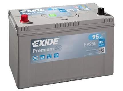 Аккумулятор автомобильный EXIDE EA955 95 Ач