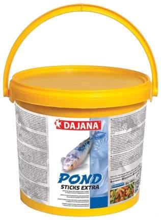 Корм для прудовых рыб Dajana Pond Sticks Extra, палочки, 5 л