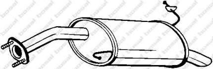 Глушитель выхлопной системы bosal 165287