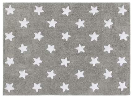 Ковер Lorena Canals Звезды Stars серый с белым 120*160