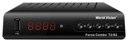 DVB-T2 приставка World Vision Foros Combo black