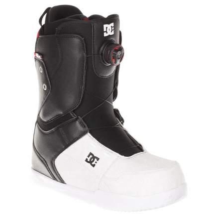 Ботинки для сноуборда DC Scout 2018, black/white, 29.5