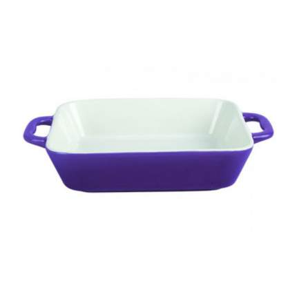 Форма керам прям 36,5x24,5x6,5см фиолет TM Appetite