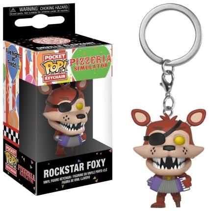 Брелок Five Nights at Freddy's: Pizzeria Simulator - Pocket POP! - Rockstar Foxy (4 см)
