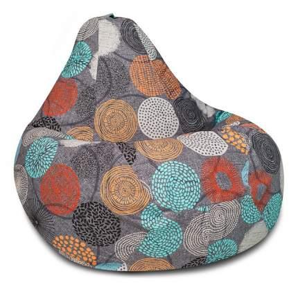 Кресло-мешок DreamBag Рингс XL, цветной рисунок