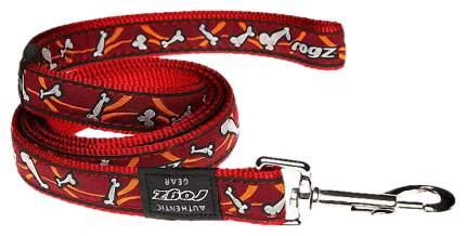 Поводок для собак Rogz 140 см красный HL12X