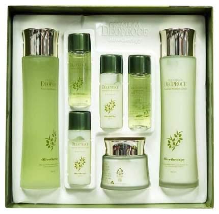 Подарочный набор Deoproce Olivetherapy Essential Moisture Skin Care Set с экстрактом оливы