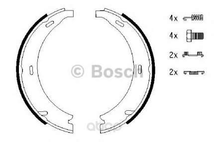 Колодки тормозные барабанныеручн.тормозные [164x20] рем/кт Bosch 0986487543