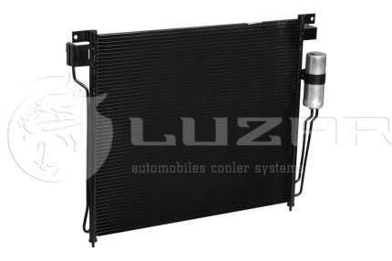 Радиатор кондиционера автомобильный Luzar LRAC14EB
