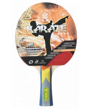 Ракетка для настольного тенниса Giant Dragon ST12401 Karate, красная