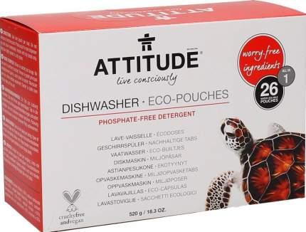 Таблетки для посудомоечной машины Attitude 26 штук