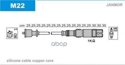 Комплект проводов зажигания JANMOR M22