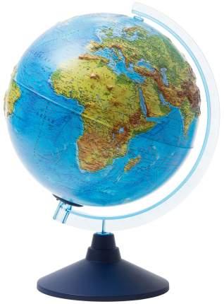 Глобус Globen Интерактивный физико-политический с подсветкой рельефный d=320