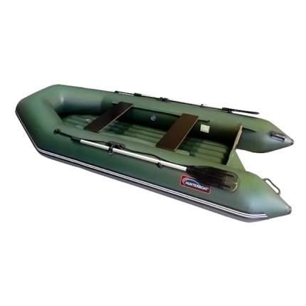 Надувная лодка Hunterboat Хантер 320 ЛН зеленая