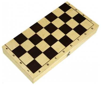 Шахматы с доской обиходные лакированные Рыжий кот ин-7520