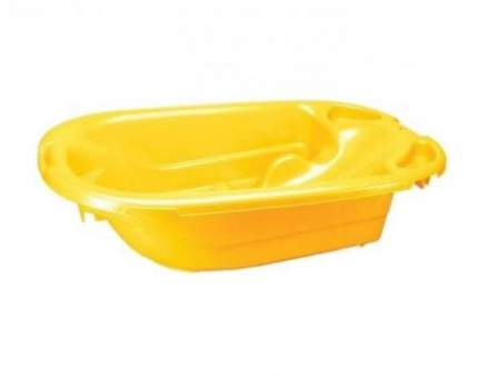 Ванна детская Папитто анатомическая Желтая 4313008