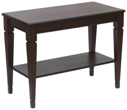 Журнальный стол Мебелик 60х80х40 см, коричневый