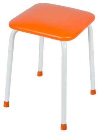 Табурет ЗМИ Пенек крепкий квадратный до 120кг Оранжевый