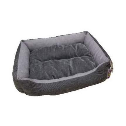 Лежак для животных FOXIE Colour 60х50х18см серый