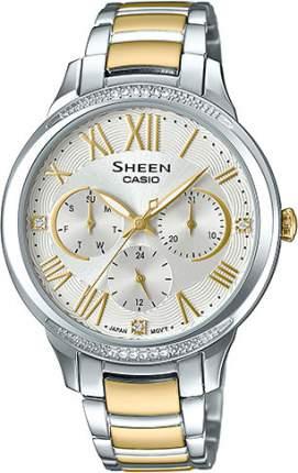Наручные часы кварцевые женские Casio Sheen SHE-3058SG-7A