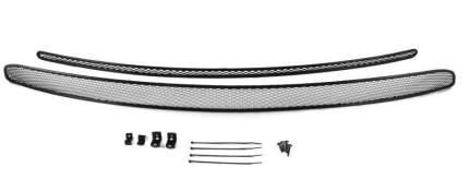Сетка на бампер arbori внешняя для Chevrolet Trailblazer 2013-2019, 2 шт., черная, 10 мм
