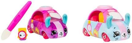 Машинка пластиковая Cutie Cars Watch Wheels меняющая цвет с кисточкой