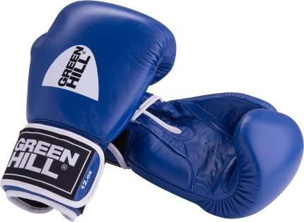 Боксерские перчатки Green Hill Gym синие 14 унций