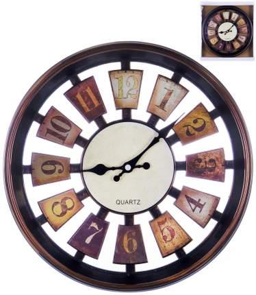 Часы настенные круглые GUTERWAHL Home art «РУЛЕТКА ТЕМНЫЙ» 30,5 см