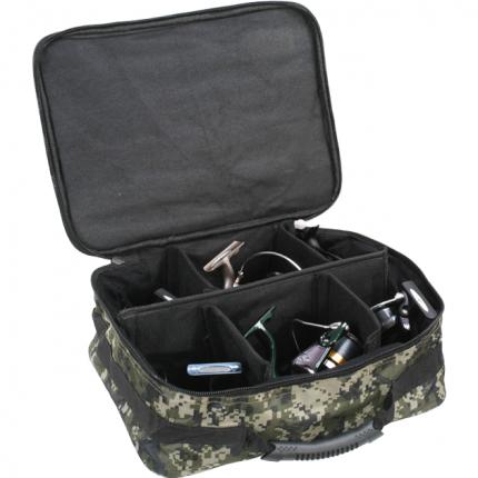 Сумка для рыболовных катушек Mikado R004P 38 х 29 х 13 см камуфляжная