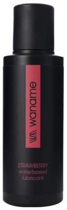 Гель-смазка Waname на водной основе с ароматом клубники 100 мл