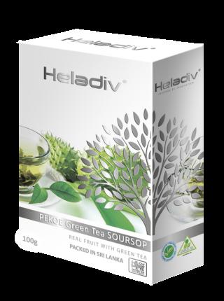 Чай зеленый листовой  Heladiv soursop green tea 100 г
