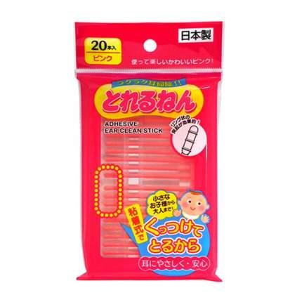 Палочки ушные Energy japan красные, 20 шт
