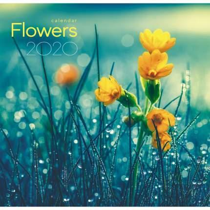 Календарь одноблочный 2020 Цветы. На рассвете, КПКС2012