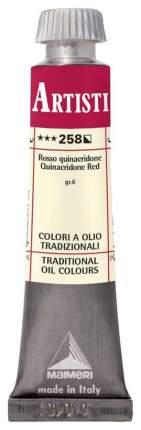 Масляная краска Maimeri Artisti M0102258 красный квинакридон 20 мл