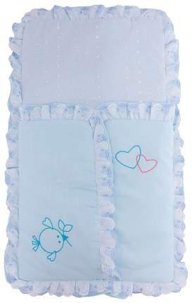 Конверт для новорожденных Fairy Жирафик голубой