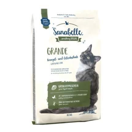 Сухой корм для кошек Bosch Sanabelle Grande, для крупных пород, домашняя птица, 10кг