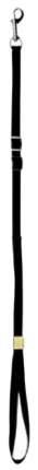 Поводок для собак Show Tech нейлоновая ринговка, черная, 0,3 х 121 см