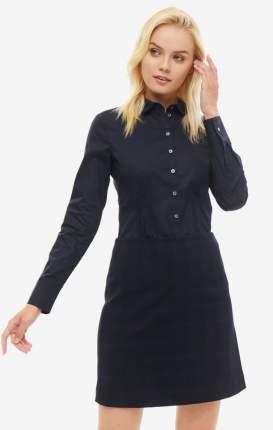 Блуза женская Marc O'Polo 145742563/812 синяя 40 EU