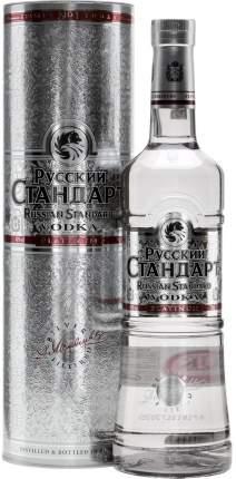Водка  Русский Стандарт Платинум в подарочной коробке 0.7 л