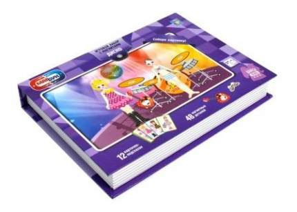 Настольная игра 1Toy Магбук диско, 12 образов, 48 магнитных деталей 19х26х4 см