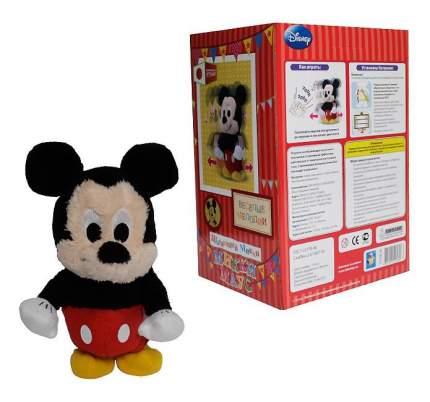 Мягкая игрушка 1 TOY Disney Шагающий Микки из плюша, функциональная в коробке