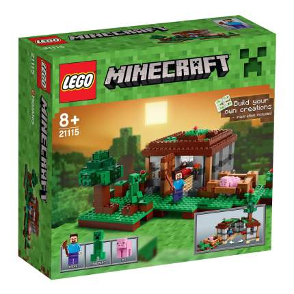Конструктор LEGO Minecraft Первая Ночь (21115)
