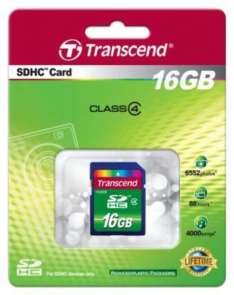 Карта памяти Transcend SDHC Standard TS16GSDHC4 16GB