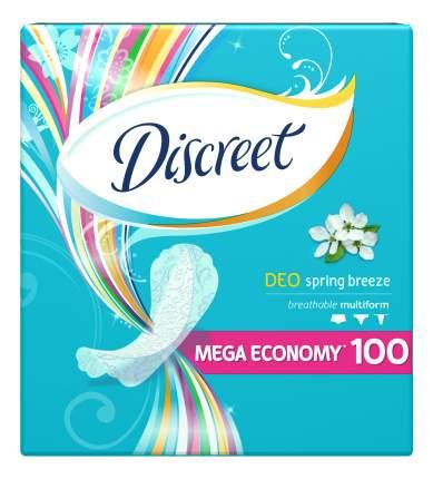 Прокладки Discreet ежедневные Deo Spring Breeze Multiform 100шт