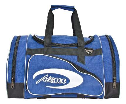 Дорожная сумка Polar П03 синяя/черная 50 x 24 x 30