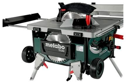 Станок циркулярный Metabo TS 254 600668000