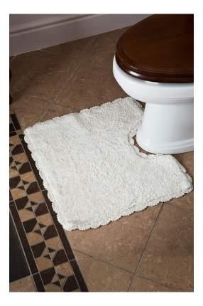 Коврик для туалета Arloni Лейс 50 х 50 см белый