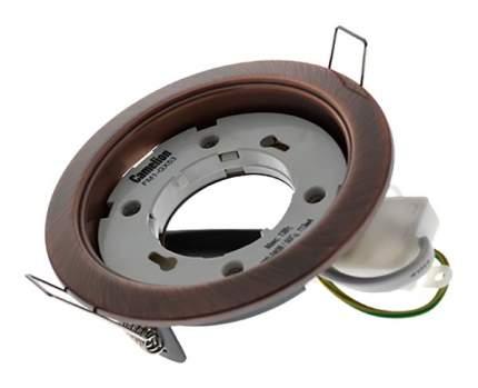Встраиваемый светильник Camelion FM1-GX53-BZ бронза