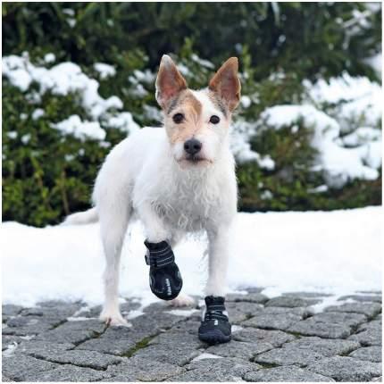Обувь для собак TRIXIE размер S, 2 шт черный